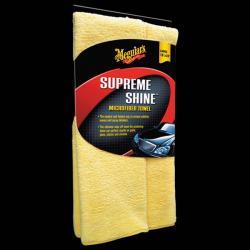 Meguiar's Supreme Shine Microfiber Towel - Ręczniczek z microfibry do czyszczenia i polerowana (1 sztuka)