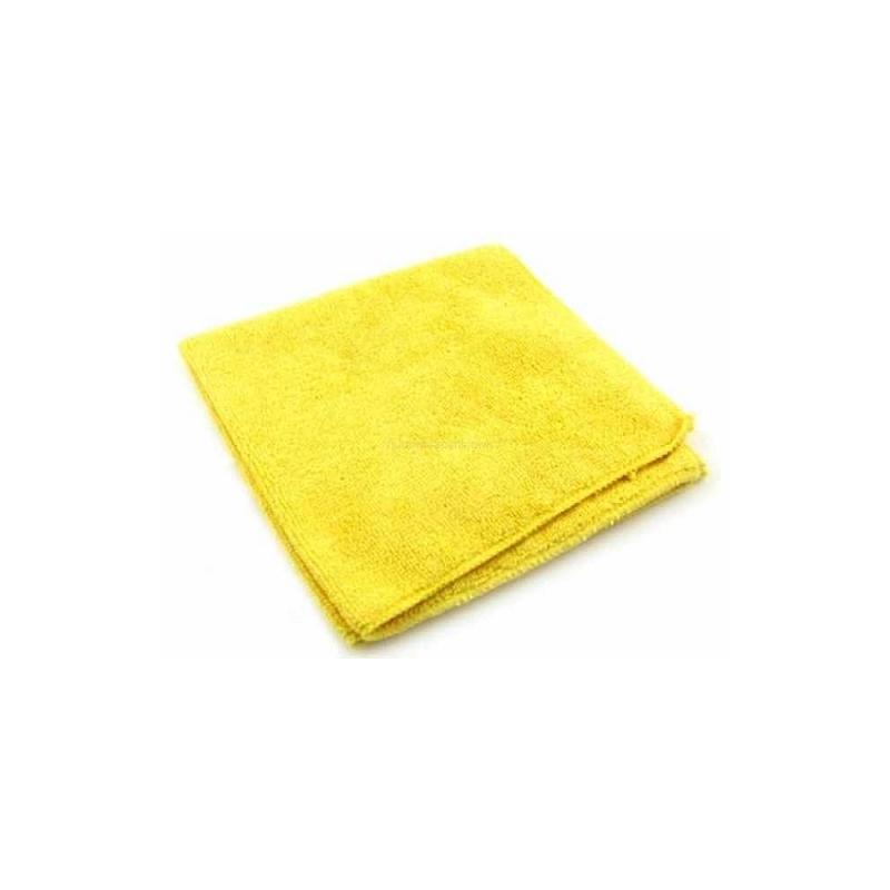 Ścierka z mikrofibry 40x40cm 320mg zółta