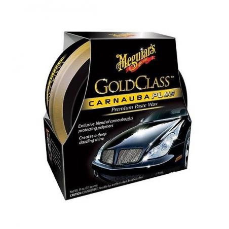 Meguiar's Gold Class Carnauba Plus Premium paste Wax 311g