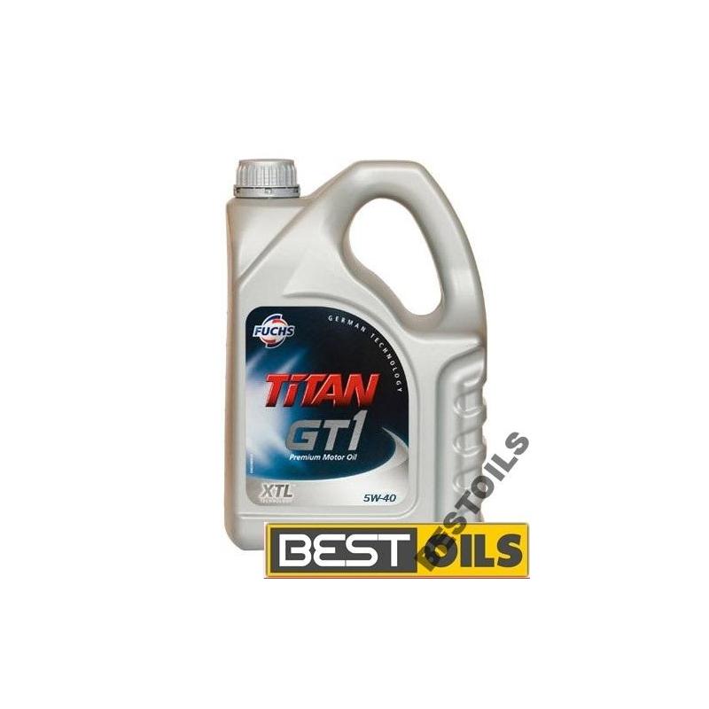 FUCHS TITAN GT1 5W40 XTL - 4 litry