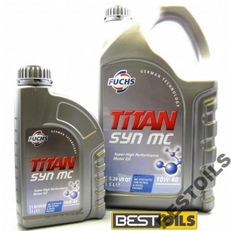 Olej FUCHS TITAN SYN MC 10W40 1L