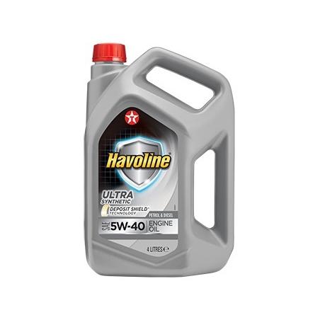 TEXACO HAVOLINE ULTRA 5W40 4L