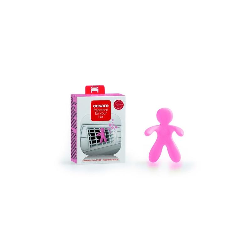 Cesare - odświeżacz do auta - Pastel Pink - Silky Ro
